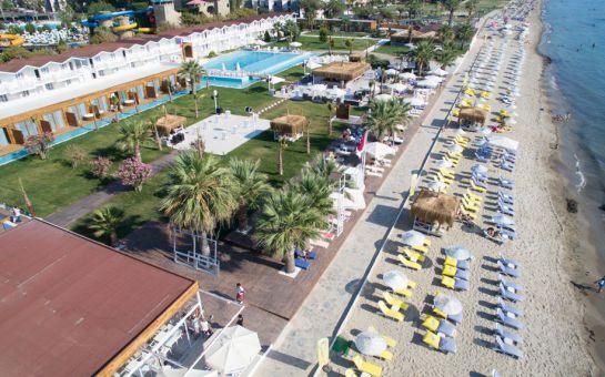 Kuşadası Aqua Atlantis'te Aquapark + Capello Beach Plaj (Giriş Capello Beach Kapısından)