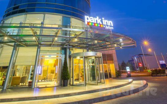 Park Inn by Radisson Istanbul Atatürk Airport'tun Konforlu Odalarında 2 Kişilik Konaklama Seçenekleri ve Spa Kullanımı