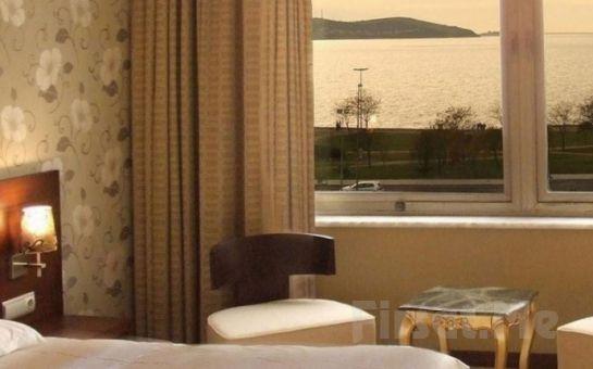 Hotel Suadiye'de Şehir ve Deniz Manzaralı Odalarda Konaklama Seçenekleri