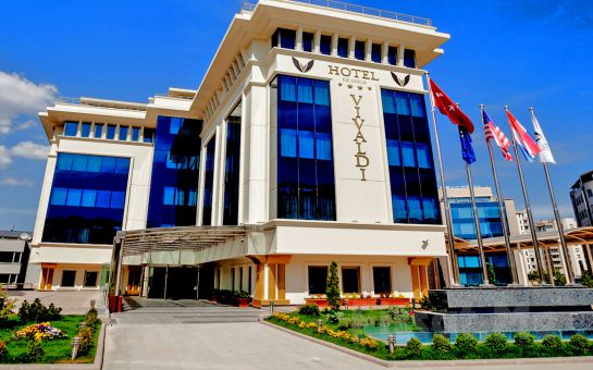 Vivaldi Ce Gold Hotel Çankaya'da Kahvaltı Dahil Konaklama Seçenekleri