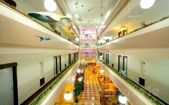 Kemer'de Denize Sıfır Muhteşem Bir Tatil! Kemer Fame Residence Park Hotel'de Herşey Dahil Tatil Fırsatı!