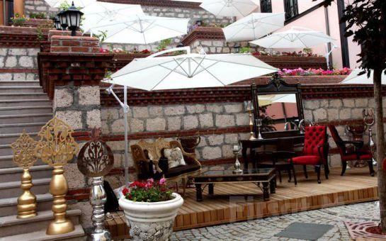 Kültür Mirası Eskişehir Odunpazarı Abacı Konak Otel'de Konaklama ve Kahvaltı Seçenekleri