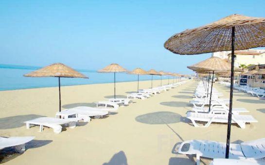 Denize Sıfır Kumburgaz Grand Gold Hotel'de Günübirlik Havuz ve Plaj Kullanımı