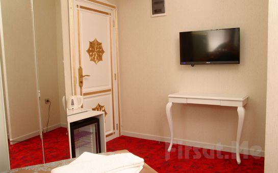 White Monarch Hotel Mecidiye'de Kahvaltı Dahil Konaklama Seçenekleri