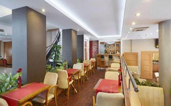 Kordon Otel Alsancak'ta Kahvaltı Dahil 2 Kişilik Konaklama