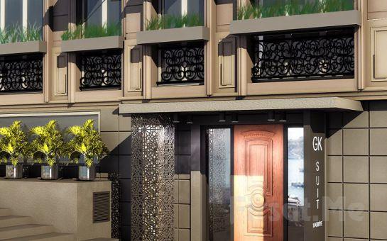 Şişli GK Regency Suites'de Konak Otel'de Konaklama ve Kahvaltı Seçenekleri