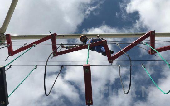 Adrenalin ve Macera Tutkunları için Modern Adventure Park Beylikdüzü Giriş Bileti ve Macera Parkurları