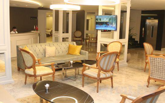 Enerji Hotel Ankara'da 2 Kişilik Konaklama Keyfi