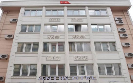 Antik Otel Ankara'da Kahvaltı Dahil İki Kişi Konaklama Keyfi