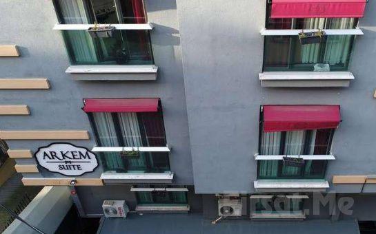 Arkem Hotel 1 Maltepe'de İki Kişilik Konaklama Seçenekleri