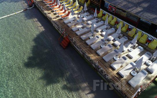 Büyükada Eskibağ Plajı Giriş, Şezlong, Şemsiye Kullanımı