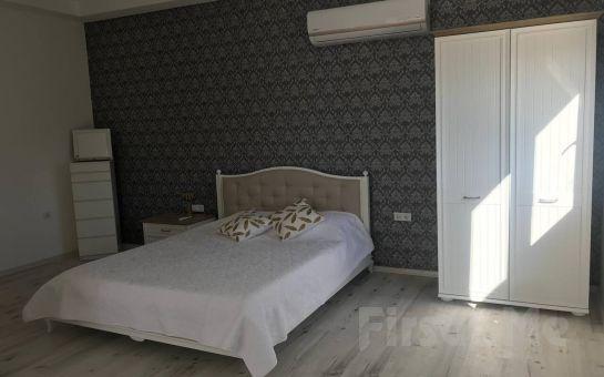 Marmaris'de Şahane Deniz Manzaralı 4 Kişilik Stüdyo Daire'de Konaklama