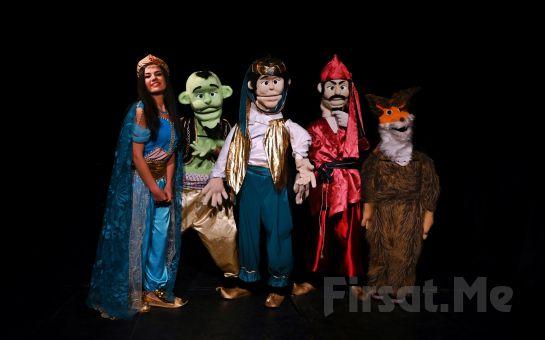 Çocuklar ve Yetişkinler 'Alaaddin-Kukla Tiyatrosu' Gösteri Bileti