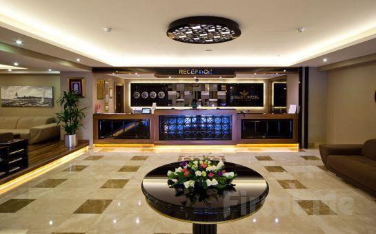 Üsküdar Volley Hotel'de Hafta Sonu 2 Kişi Konaklama, Açık Büfe Kahvaltı Fırsatı (Meyve Tabağı İkramıyla)