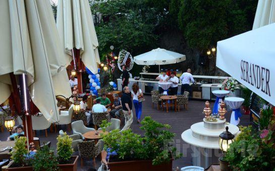Serander Bosphorus'da Boğaza Karşı Romantik Bir Akşam Yemeği