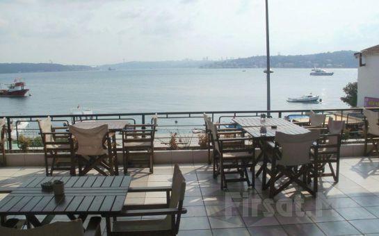 Boğaza Sıfır Beykoz Deep Blue Restaurant'ta Sınırsız Çay Eşliğinde Serpme Kahvaltı Keyfi!