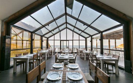 Sarıyer Milyos Restaurant'ta 21 Aralık'ta Çelik Eşliğinde Yemek Menüleri