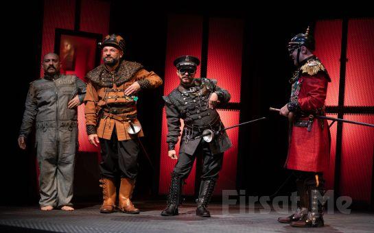 Suçlu Kimse Kalmayınca Kendi Suçlusunu Yaratan Teşkilatın Hikayesi 'Polisler' Tiyatro Oyunu Bileti