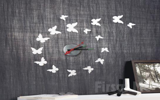 Duvarınıza Şık Bir Dokunuş İçin Sticker Duvar Saatlerini Kaçırmayın!