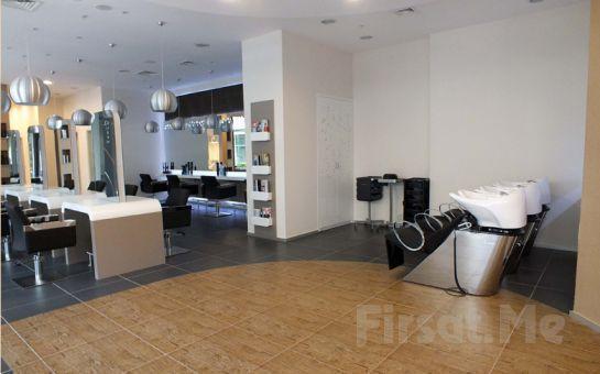 Ataköy De Rouge Men Kuaför'de Saç Kesimi + Saç Yıkama + Saç Bakımı + Fön Uygulaması!