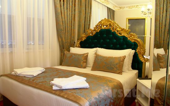 White Monarch Hotel Mecidiyeköy'de 2 Kişilik Konaklama Keyfi