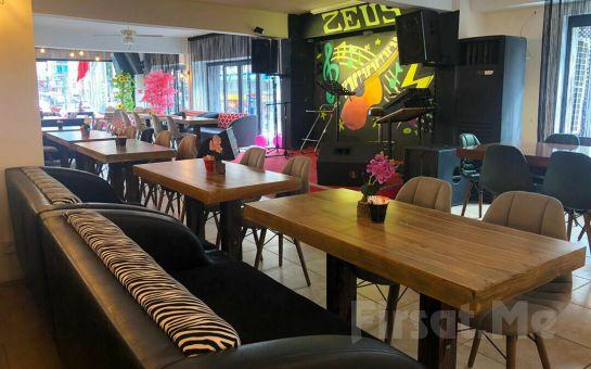 Zeus Cafe & Restaurant Üsküdar'da Leziz Serpme Kahvaltı Menüsü