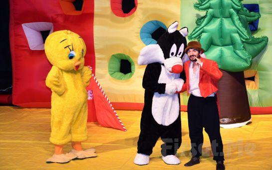 Zihni Göktay'dan Çocuklar ve Yetişkinlere Yönelik Masal ve Söyleşi & 'Sylvester ve Tweety Maceraları' Tiyatro Oyunu Bileti