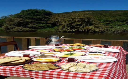 Bizimköy Piknik Riva'da Doğanın Kalbinde 'Serpme Köy Kahvaltısı' Keyfi