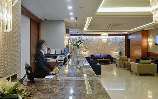 Tuğcu Hotel Select Bursa'da 2 Kişilik Konaklama ve Kahvaltı Keyfi