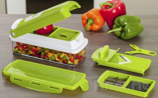 Mutfaktaki Pratik Yardımcınız Nicer Dicer Plus Akıllı Doğrayıcı