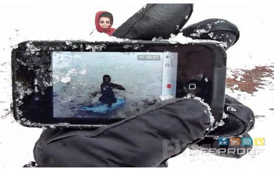Telefonunuza İyi Bakın iPhone 5 LifeProof Su Gecirmez Kılıf Fırsatı (Siyah veya Beyaz)