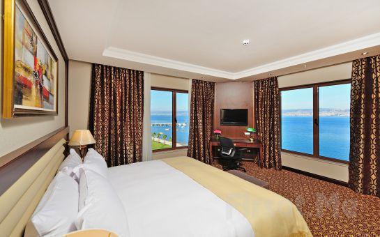 Tatil Bugün'den, 5* WELLBORN LUXERY HOTEL'de 1 Gece Yarım Pansiyon Konaklama, Türk Hamamı, SPA Keyfi ve Kartepe & Kartalkaya Kayak Turu!