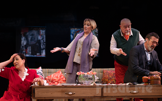 Güçlü Oyuncu Kadrosuyla Müthiş Bir Komedi 'Vahşet Tanrısı' Tiyatro Bileti