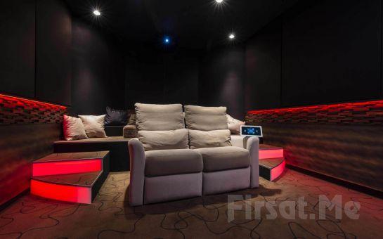 Cine House İzmir'de Özel Sinema Odasında 2 Kişilik Sevgililer Günü Özel Sinema Keyfi
