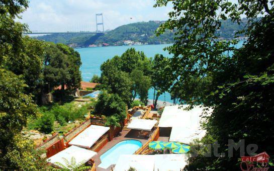 Rumeli Hisarının Eşsiz Boğaz Manzarası Eşliğinde, Serander Bosphorus'ta Izgara Tavuk Ya da Izgara Köfte Seçenekleriyle Öğle Yemeği Fırsatı!