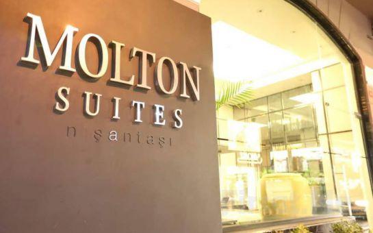 Molton Suites Nişantaşı Otel'de kahvaltı Dahil 2 Kişilik Konaklama Keyfi