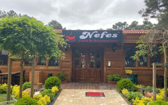 Samandra Nefes Cafe ve Restaurant Sancaktepe'de Çift Kişilik Serpme Kahvaltı Keyfi