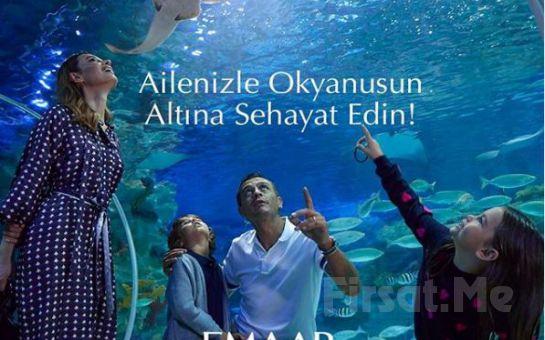 Emaar Akvaryum İstanbul 1 Bilet Alana 1 Bilet Bedava Çift Kişilik Giriş Bileti
