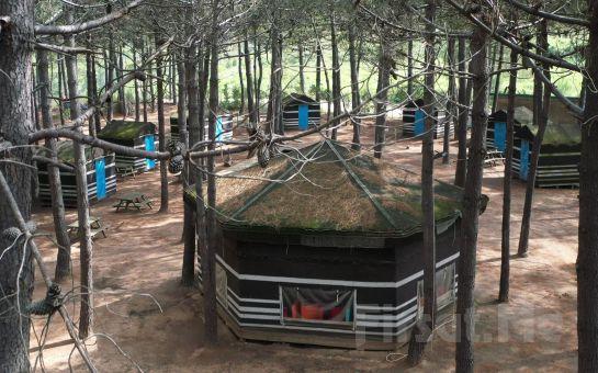 İncekum Macerapark Girişi, Yörük Çadırında Konaklama Paketleri