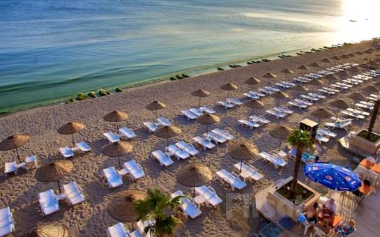 Bayram Tatili İstanbul'da Yaşanır Denize Sıfır Kumburgaz Grand Gold Hotel'de 2 Kişilik Konaklama, Kahvaltı, Açık Havuz ve Özel Plaj Kullanımı Paketleri