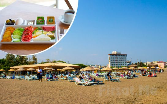 Milyon Beach Mersin'de Deniz Kenarında Kahvaltı Dahil Kamp Keyfi