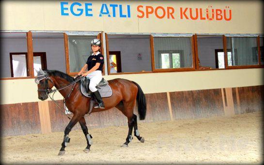 İzmir Ege Atlı Spor Kulübü'nde Serpme Kahvaltı, Türk Kahvesi İkramı ve Çocuklar için At Binme