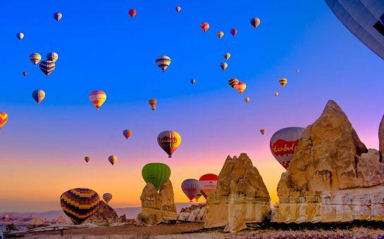 Rüya Gibi 1 Saatlik Kapadokya Balon Turunu 850 TL Yerine 599 TL'ye Almanızı Sağlayacak İndirim Kuponu