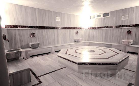 Bakırköy Sauna'da 45 dakika Masaj, Türk Hamamı'nda Kese-Köpük, Sauna, Buhar ve Soğuk Oda, Jakuzi, Spor Salonu