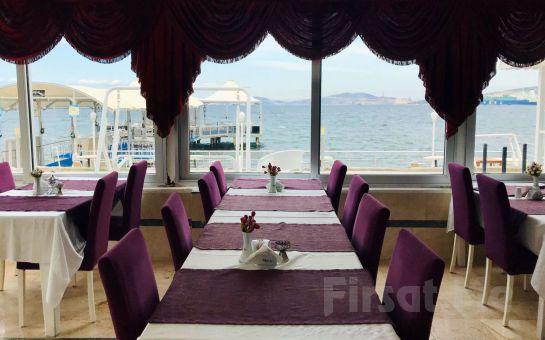 Foça Club Rose Bay Hotel'de Alkollü Akşam Yemeği Menüsü