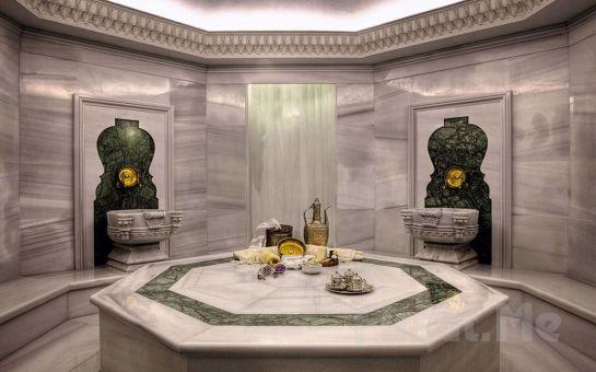 İstanbul Palazzo Donizetti Hotel'de Masaj Paketleri ve Islak Alan Kullanımı