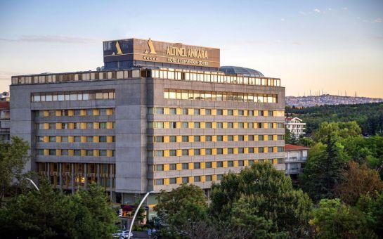 5 Yıldızlı Altınel Hotel Ankara'da Hafta Sonuna Özel Enfes Lezzetlerden Oluşan Kahvaltı Keyfi