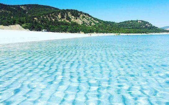 Ritim Travel'dan Denizli Dedeman Otel'de 1 Gece Konaklamalı Pamukkale Travertenleri, Şirince, Efes Antik Kenti ve Salda Gölü Turu