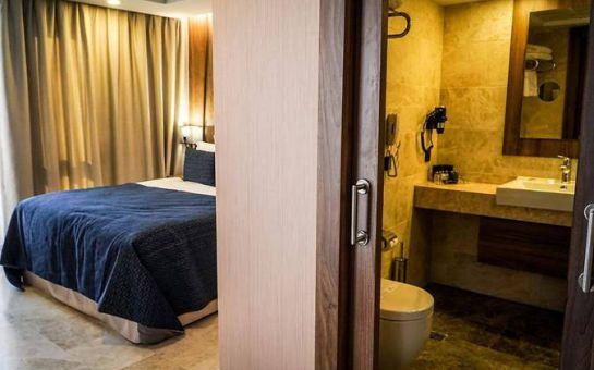 Extenso Hotel İzmir Gaziemir'de Kahvaltı Dahil 2 Kişilik Konaklama Seçenekleri