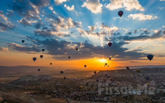 Sömestr Tatilinde, Krizantem Tur'dan 4 Gün 2 Gece Suhan Otelde Yarım Pansiyon Konaklamalı Kapadokya Turu